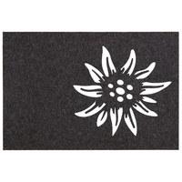 TISCHSET 45/30 cm Textil - Dunkelgrau, LIFESTYLE, Textil (45/30cm)