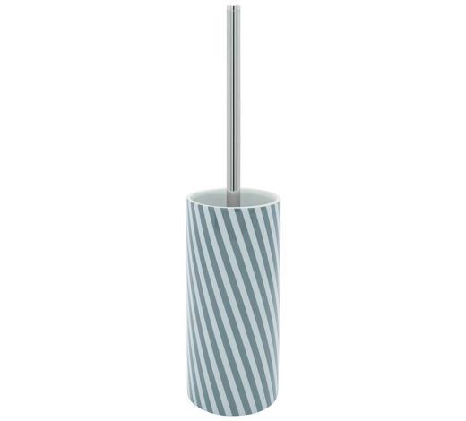 WC SADA - šedá/bílá, Basics, kov/umělá hmota (8,6/38cm) - Sadena