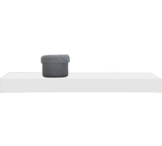 WANDBOARD in Weiß  - Weiß, Design, Holz (60/25cm)