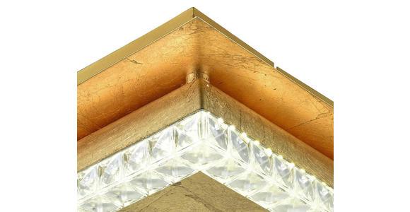 LED-Deckenleuchte Ariana - Goldfarben, ROMANTIK / LANDHAUS, Kunststoff/Metall (35/10,5cm) - James Wood