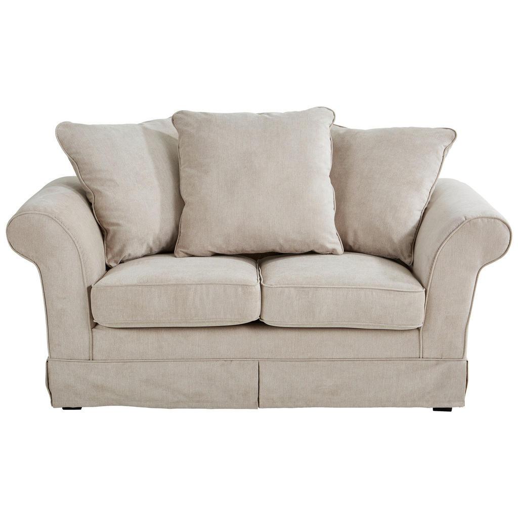 Livetastic Zweisitzer-sofa mikrofaser beige