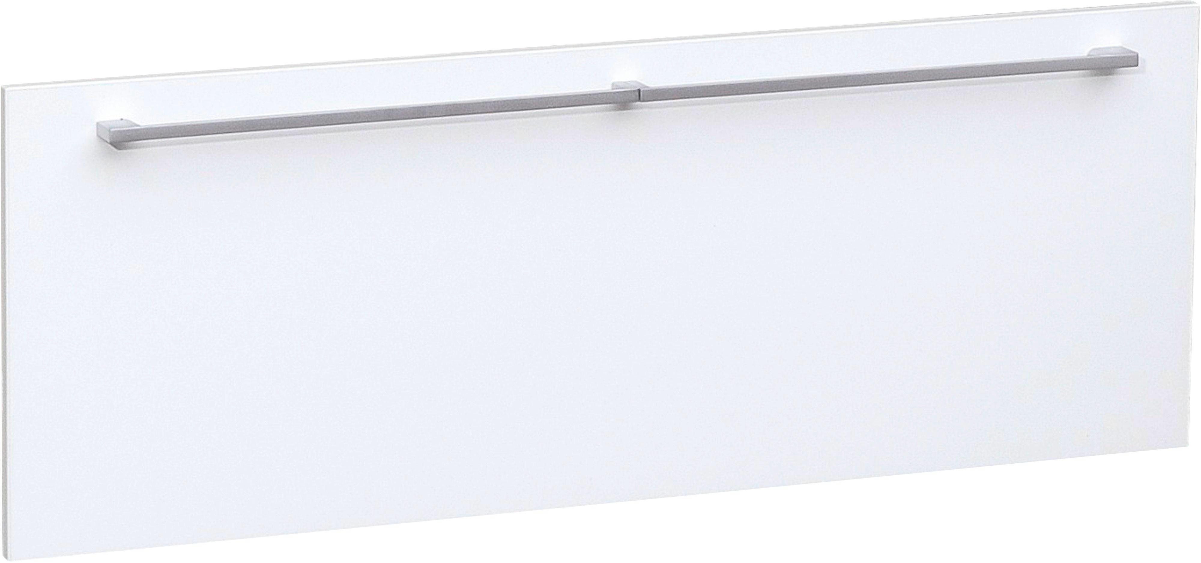 DOPPELSCHUBLADE 86/32/51 cm Weiß - Silberfarben/Weiß, Design, Kunststoff (86/32/51cm) - CS SCHMAL