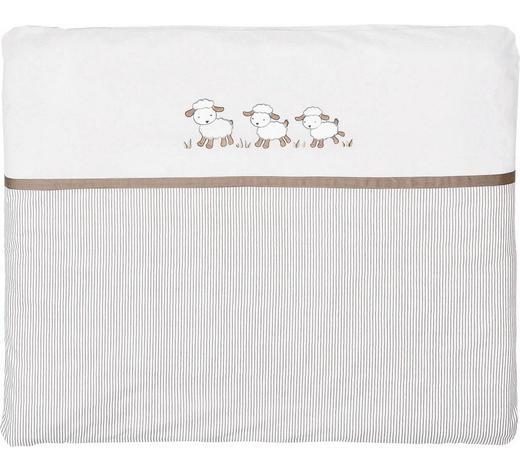 PODLOŽKA PŘEBALOVACÍ - béžová/šedohnědá, Basics, textil (85/75cm) - My Baby Lou