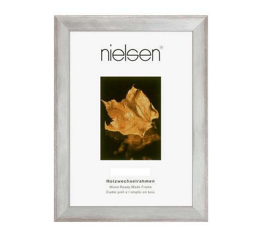 BILDERRAHMEN  Silberfarben - Silberfarben, Basics, Holz (24/30cm) - Nielsen