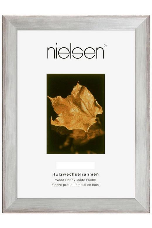 BILDERRAHMEN  Silberfarben - Silberfarben, Basics, Holz (50/70cm)