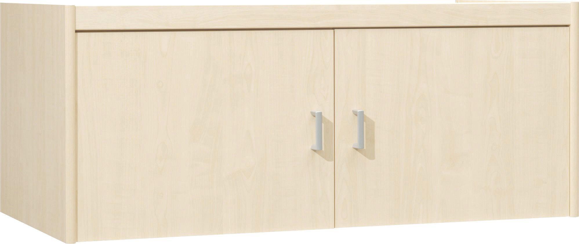 AUFSATZSCHRANK 106/43/54 cm Ahornfarben - Silberfarben/Ahornfarben, Design, Kunststoff (106/43/54cm) - CS SCHMAL