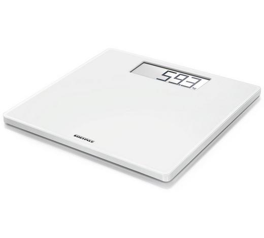 PERSONENWAAGE - Weiß, Basics, Glas/Kunststoff (31/31/2,1cm) - Soehnle