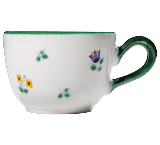 KAFFEETASSE 190 ml  - Grün, LIFESTYLE, Keramik (7/9,5/13cm) - Gmundner