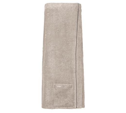 SAUNAKILT  - Grau, Basics, Textil (80/140cm) - Vossen