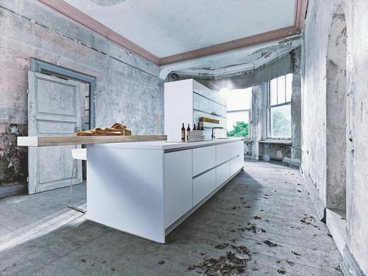 EINBAUKÜCHE - Basics, Holzwerkstoff - Next 125