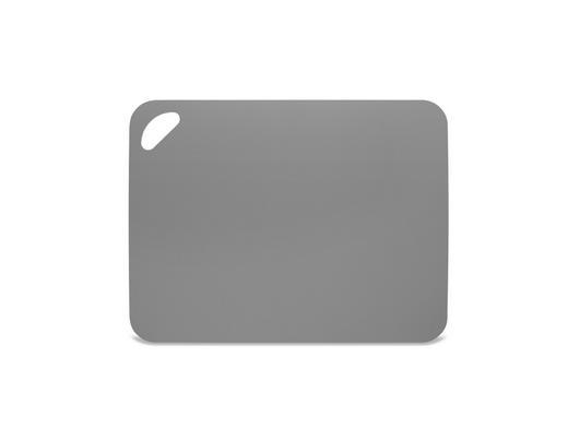 SCHNEIDEBRETT - Grau, Basics, Kunststoff (38/29/0,2cm) - Homeware