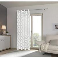 ÖSENVORHANG halbtransparent - Weiß, LIFESTYLE, Textil (140/245cm) - Esposa