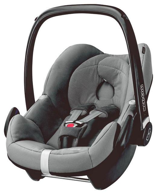 Babyschale Pebble - Schwarz/Grau, Basics, Kunststoff/Textil (44/57/67cm) - MAXI COSI