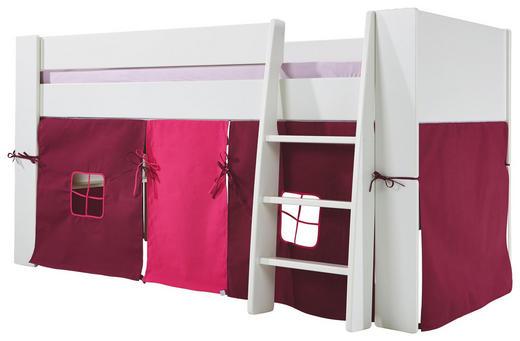 SPIELVORHANG Pink, Rot - Pink/Rot, Design, Textil (190/75/92cm) - Carryhome