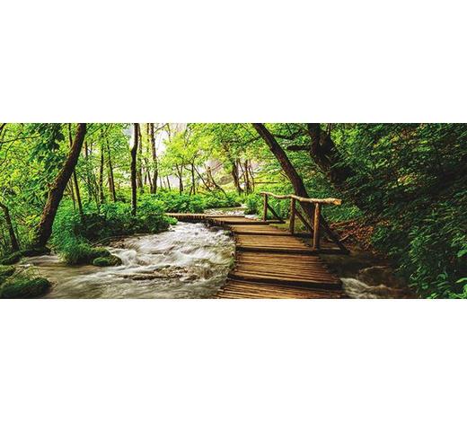 KEILRAHMENBILD - Multicolor, Natur, Holz/Papier (30/80/3cm)