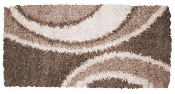 TEPIH VISOKOG FLORA - Svetlobraon, Osnovno, Tekstil (160/230cm) - Novel