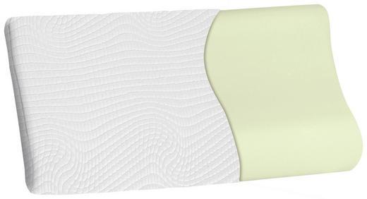 NACKENKISSEN Polyester - Weiß, Textil (67/4,9/8/35cm) - DUNLOPILLO