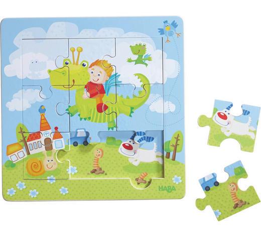 Holzrahmen - Puzzle - Basics, Holz (21/21cm) - Haba