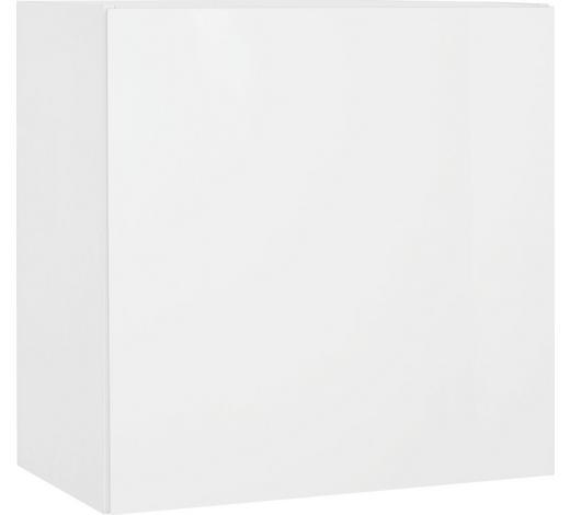 ZÁVĚSNÁ SKŘÍŇKA, bílá - bílá, Design, kompozitní dřevo (60/60/34cm)