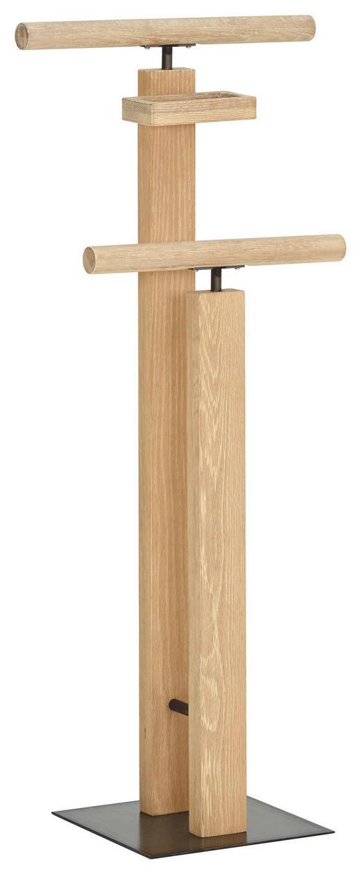 HERRENDIENER Eichefarben - Eichefarben, Design, Holz (45/107/28cm) - Hasena