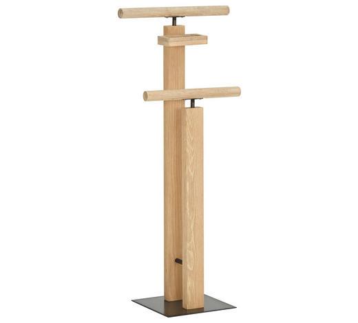 HERRENDIENER - Eichefarben, Design, Holz (45/107/28cm) - Hasena