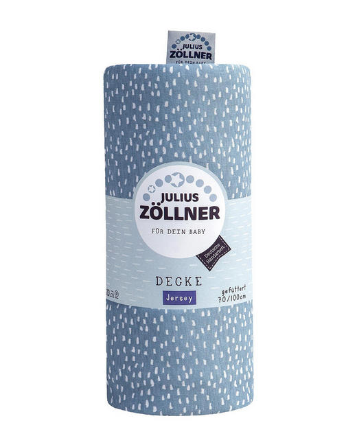 SCHMUSEDECKE - Türkis, Basics, Textil (70/100cm) - Zöllner