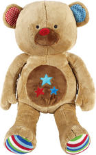 PLÜSCHTIER LIEF BAS THE BEAR - Multicolor/Braun, Basics, Textil (30/63/25cm)