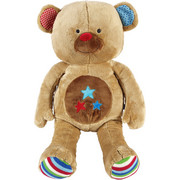 PLÜSCHTIER LIEF BAS THE BEAR - Multicolor/Braun, Textil (30/63/25cm)