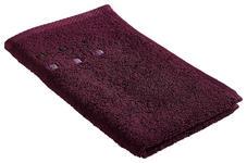 GÄSTETUCH Pflaume 30/50 cm  - Pflaume, Basics, Textil (30/50cm) - Esposa