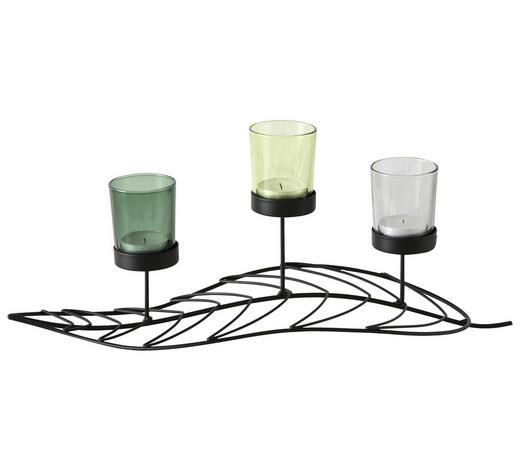 WINDLICHT - Basics, Glas/Metall (41/16/17cm)
