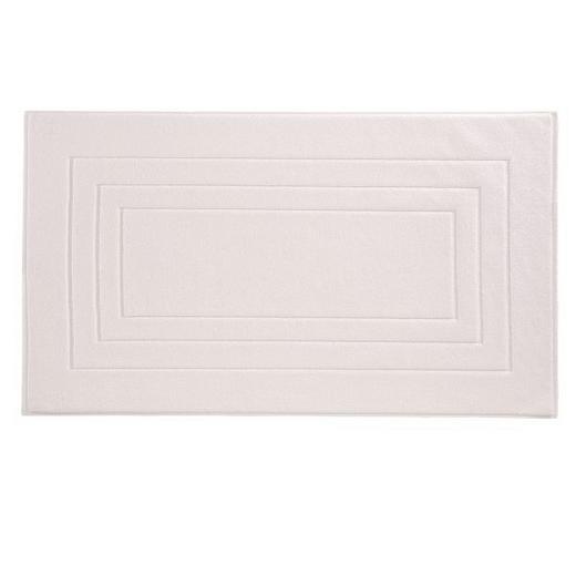 BADEMATTE in Weiß 60/100 cm - Weiß, Basics, Textil (60/100cm) - Vossen