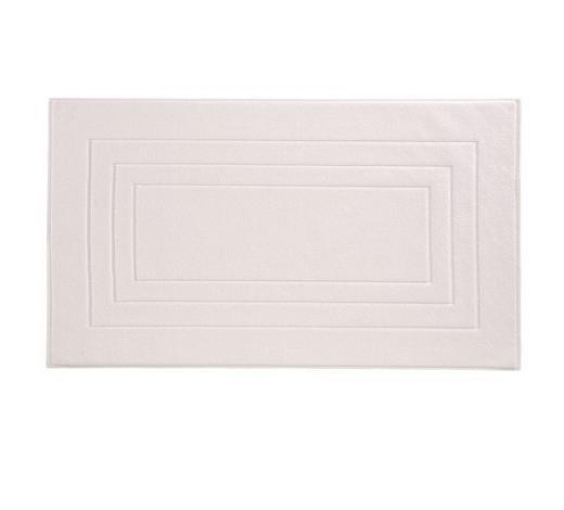 BADEMATTE in Weiß 67/120 cm  - Weiß, Basics, Textil (67/120cm) - Vossen