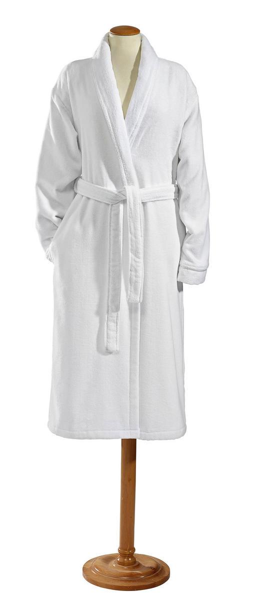BADEMANTEL  Weiß - Weiß, KONVENTIONELL, Textil (S) - Esposa