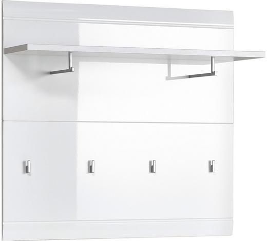 ŠATNÍ PANEL, bílá,  - bílá, Design, kompozitní dřevo (96/90/29cm) - Xora
