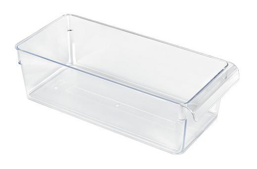 KÜHLSCHRANKBOX 31/14/9 cm - Transparent, Basics, Kunststoff (31/14/9cm) - Rotho