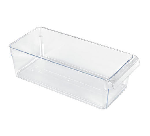 KÜHLSCHRANKBOX  - Transparent, Basics, Kunststoff (31/14/9cm) - Rotho