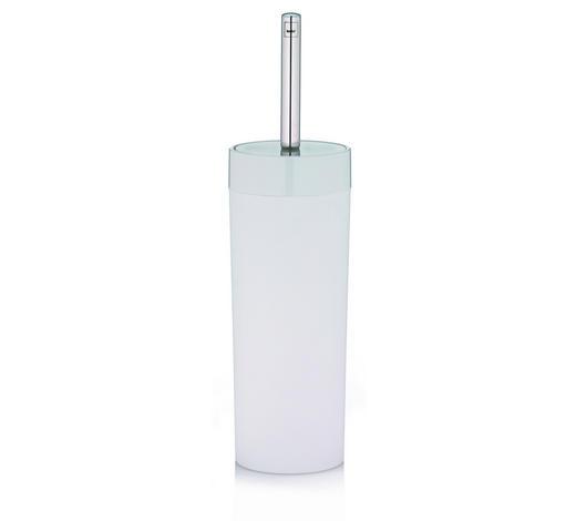 WC-BÜRSTENGARNITUR - Weiß, Basics, Kunststoff/Metall (9/37.5cm) - Kela
