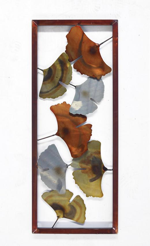 WANDDEKO Metall - Multicolor, Basics, Metall (30,5/76/4cm) - Ambia Home