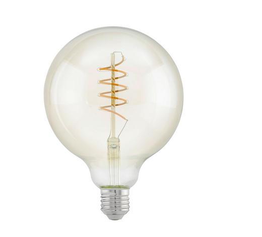 LED-LEUCHTMITTEL  E27 4 W - Klar, Trend, Glas (17cm)