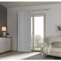 Fertigvorhang blickdicht - Grau, Basics, Textil (140/245cm) - Esposa
