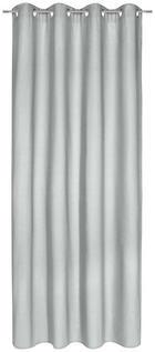 ZÁVĚS HOTOVÝ - světle šedá, Basics, textil (140/245cm) - Esposa