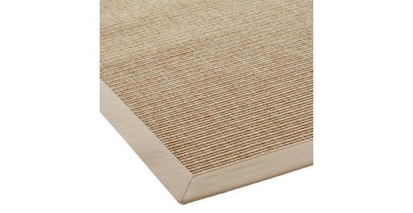 FLACHWEBETEPPICH - Beige, KONVENTIONELL, Textil (80/150cm) - Linea Natura