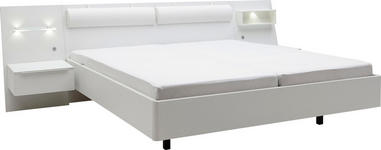 BETTANLAGE - Weiß, Design (300/92/218cm) - DIETER KNOLL