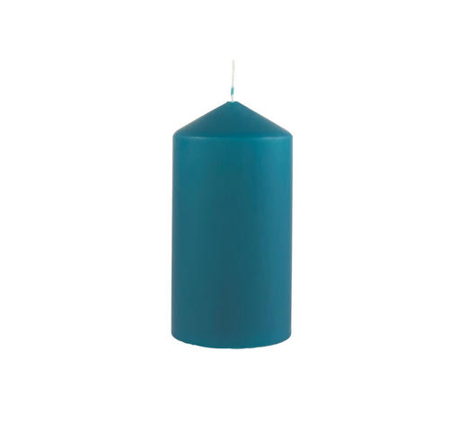 STUMPENKERZE 7,7/15 cm - Petrol, Basics (7,7/15cm) - Steinhart