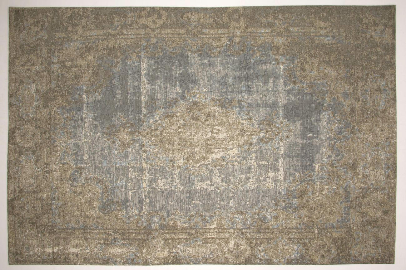 FLACHWEBETEPPICH  Beige, Blau  240/330 cm - Blau/Beige, Textil (240/330cm) - NOVEL