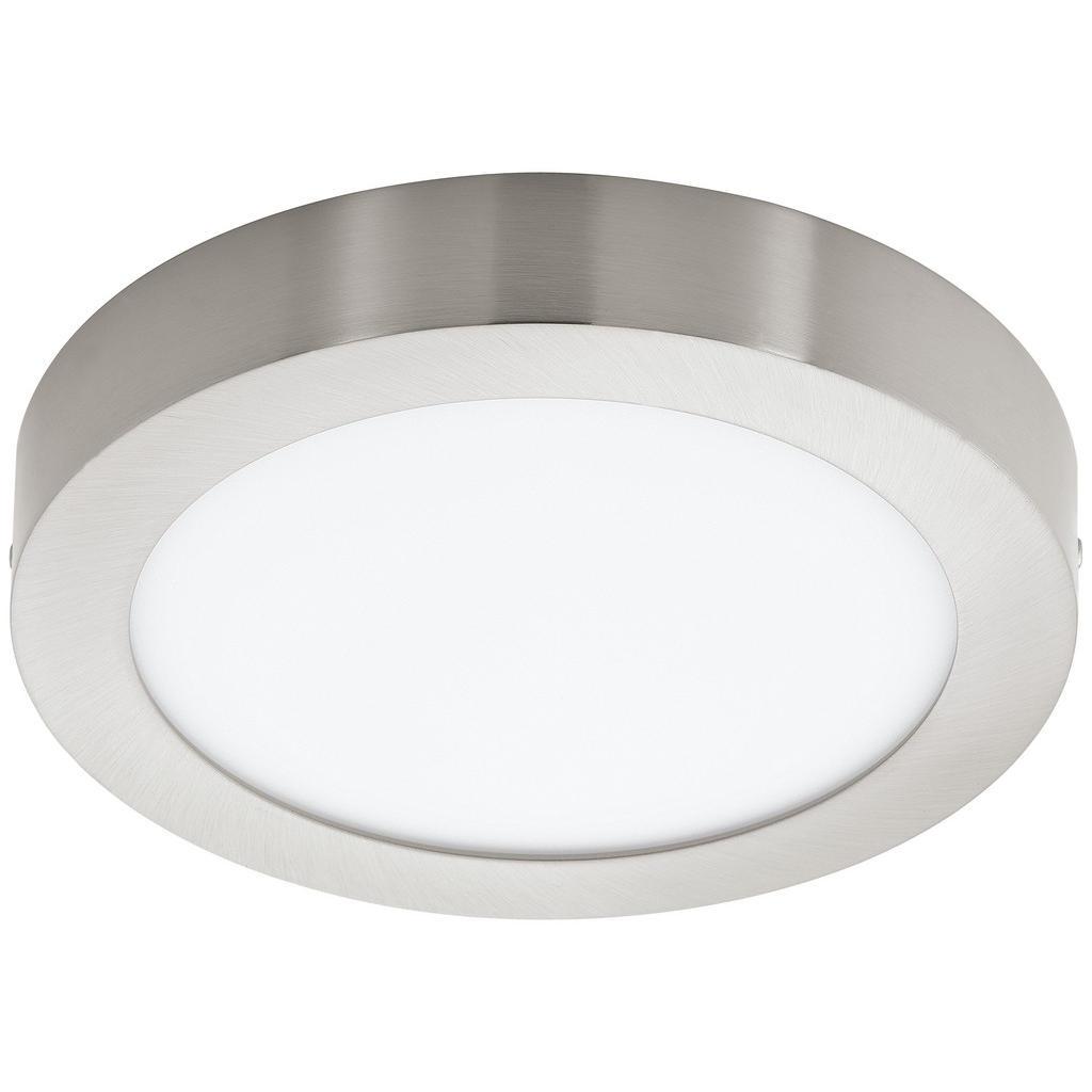Image of XXXLutz Aufbauleuchte led-leuchtmittel , 96678 Fueva-C , weiss, Nickelfarben , Metall, Kunststoff , 4 cm , matt, vernickelt,matt , 003348041002
