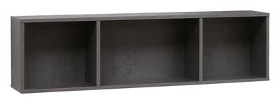 BADEZIMMERREGAL 70/20/17 cm  - Grau, Design, Holzwerkstoff (70/20/17cm) - Dieter Knoll