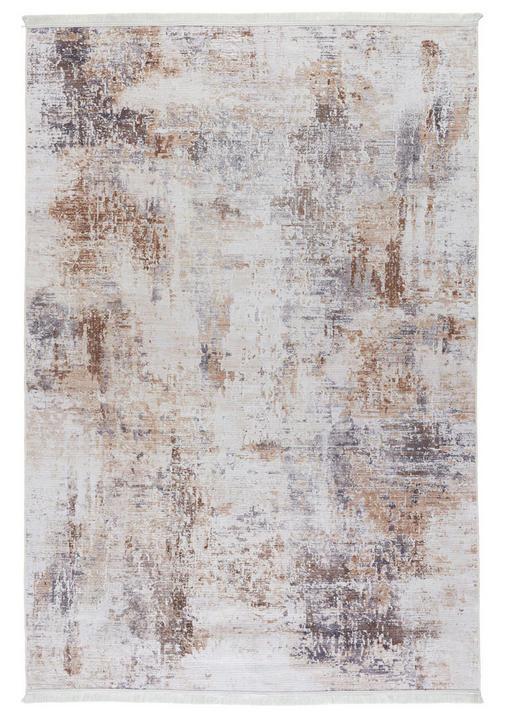 VINTAGE-TEPPICH - Braun/Weiß, Design, Textil (160 230 cm) - Novel
