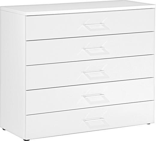 KOMMODE Weiß - Weiß, Design (100/84/39,5cm) - Welnova