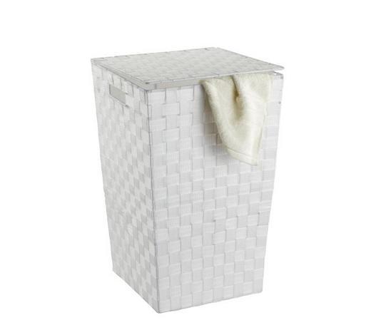 WÄSCHETONNE - Weiß, Basics, Kunststoff (33/53/33cm)